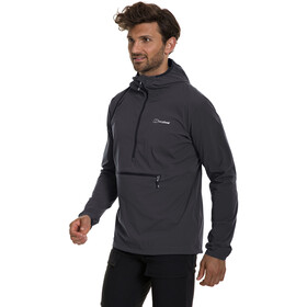 Berghaus Theran Hoody Men grey pinstripe